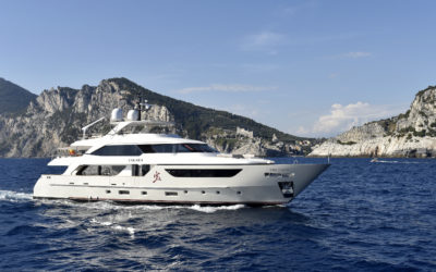 The San Lorenzo 38m yacht