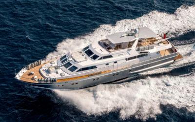 The Alalunga 33m motor yacht