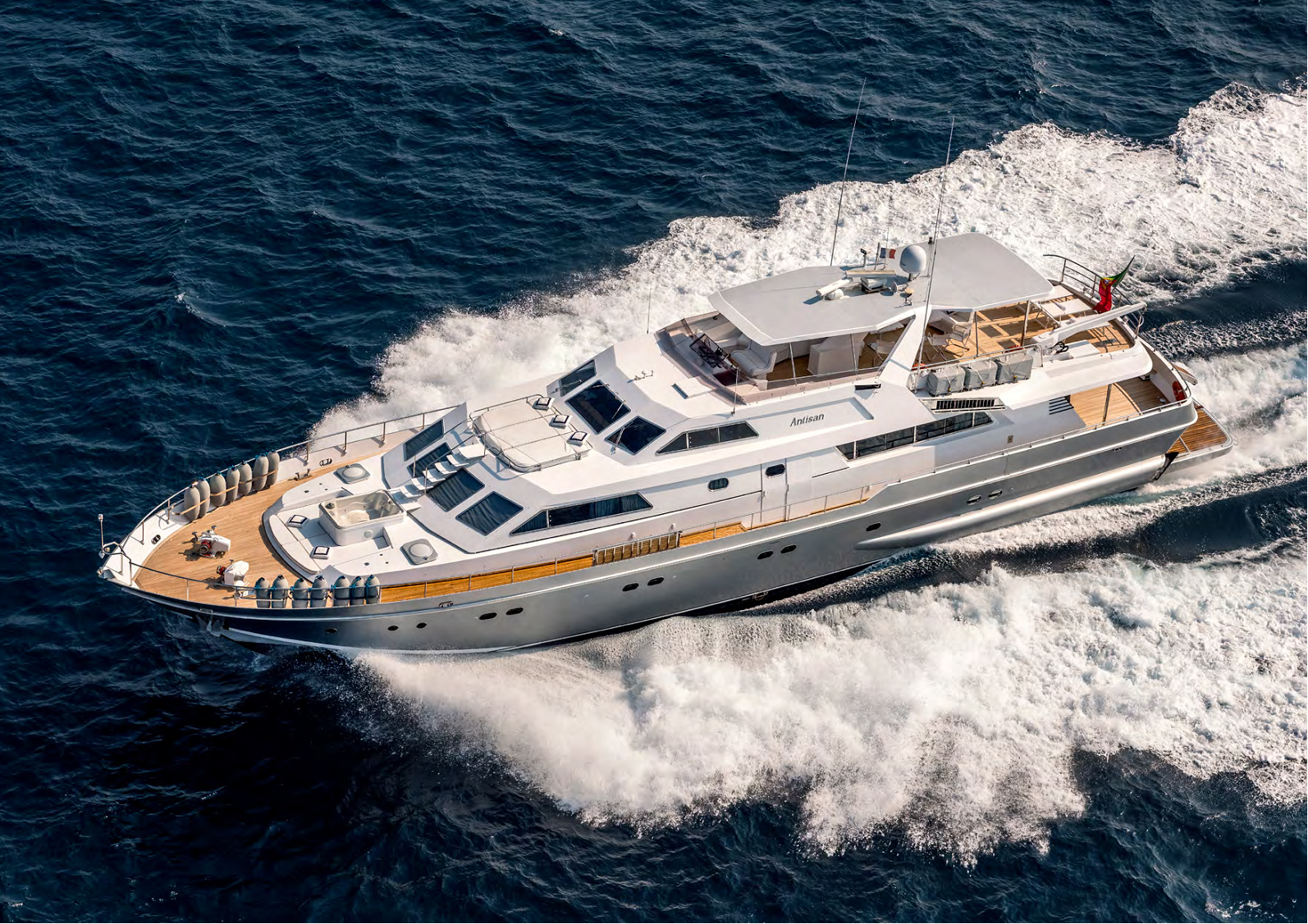 The Alalunga 33m motor yacht