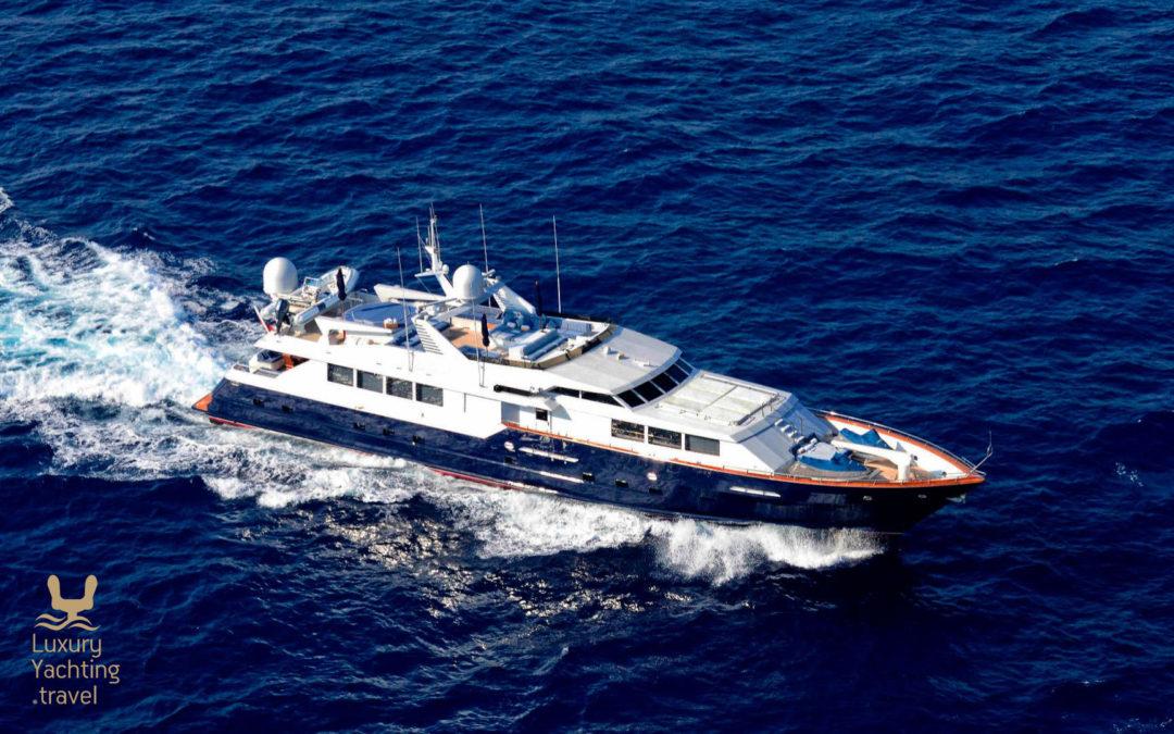 The Broward 37m motor yacht