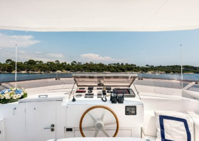 Bianchi Bridge on Alalunga Motor Yacht 33m