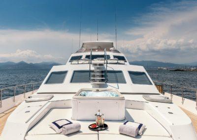 Bianchi Jacuzzi on Alalunga Motor Yacht 33m