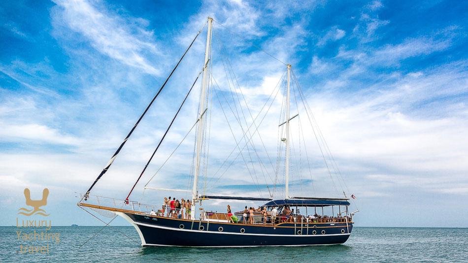 The Gulet 24.7 meters yacht