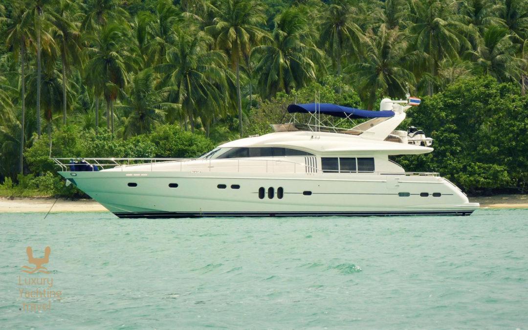 The Princess MY 23m motor yacht