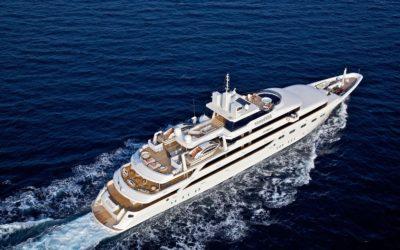 The O'mega 82.5m mega yacht