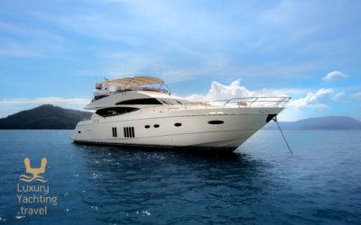 The Reignwood Senior 22.32m yacht