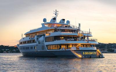 The Serenity 72m mega yacht