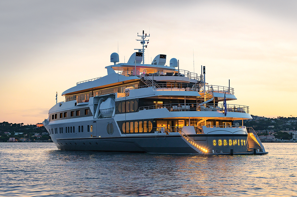 The Serenity 72m mega yacht