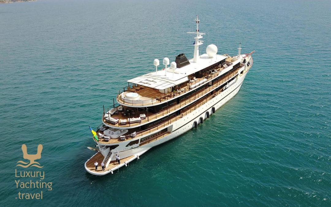 The Chakra 86m motor yacht
