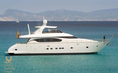 The Lex 26m motor yacht