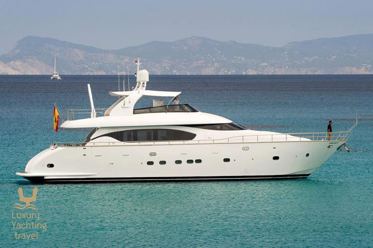 The Lex 26m motor yacht