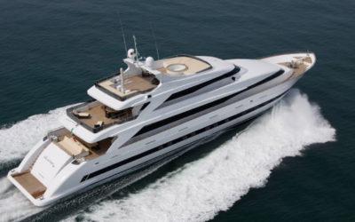The Tecnomar 44m motor yacht